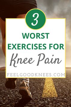 3 Common But Harmful Exercises For Your Knees Knee Pain Relief, Arthritis Pain Relief, Arthritis Remedies, Knee Arthritis Exercises, Knee Strengthening Exercises, Shoulder Pain Exercises, Back Pain Exercises, Knee Osteoarthritis