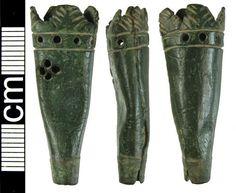 scabbard chape (?dagger), english