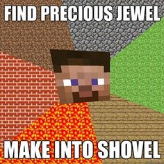 Exactly!!!  Once I had SO many diamonds that I made ALL the diamond tools possible (including the almost most non-useful diamond hoe) and ALL the diamond armor!
