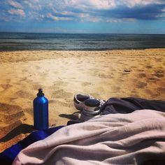 Kallt vatten, het sand. #friseboda