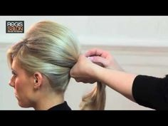 Create a Bardot Wedding Ponytail - Hair Tutorial Video (she is so cute. I want her to style my hair)