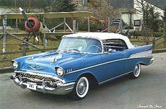 1957 Chevy Bel Air Convertible. <3