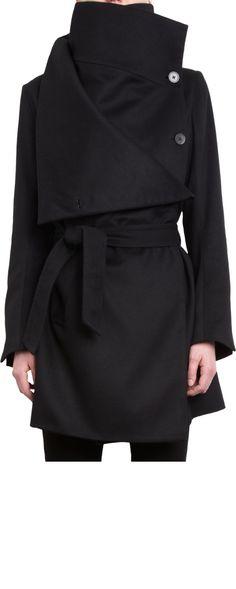 Ann Demeulemeester Scape Coat