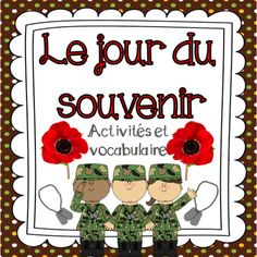 This package includes 7 French Remembrance Day activities and 24 vocabulary cards for a Remembrance Day Word Wall. The activities included are: Remembrance Day Activities, Working Wall, Core French, French Education, French Classroom, History Activities, French Immersion, Vocabulary Cards, French Lessons