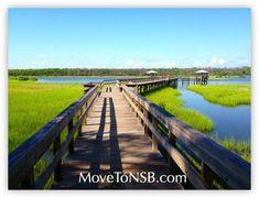 Spruce Creek Park Boardwalk - New Smyrna Beach, Florida