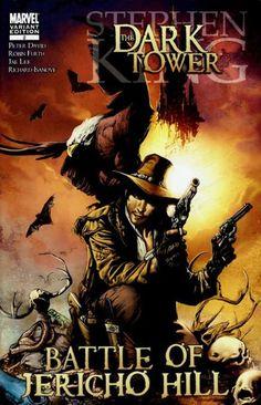 Roland The Gunslinger Dark Tower Art, The Dark Tower, Comic Book Covers, Comic Books, La Tour Sombre, Roland Deschain, Battle Of Jericho, Magnum Opus, The Darkest