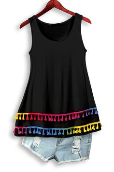 Pop of Colors Tank Free Shipping!