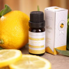 Aceite esencial Eden de Limón. Botella de 10ml. Puede utilizarse para masajes, o como ambientador en quemadores especiales. Inunda la habitación de olores exquisitos. #aceites #esenciales #naturales