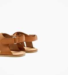 Image 6 of LEATHER SANDALS from Zara