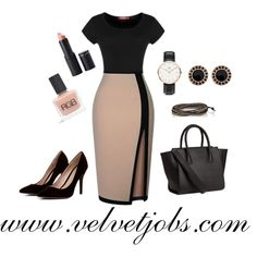 Be chic and sophisticated in this stunning business look. www.velvetjobs.com #velvetjobs