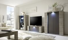 Sidney Collection Small TV Unit with LED Spot (TV & media unit) | image 3