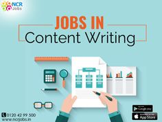 If you are looking for jobs in Content writing then you can visit our portal and apply for the same. #NCRJobs #ContentWriting See more @ http://bit.ly/2tUSHwN