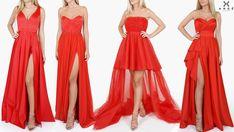 Rochii Rosii Seara Lungi Modele AngeAtelier.ro Bridesmaid Dresses, Wedding Dresses, Fashion, Atelier, Bridal Dresses, Moda, Bridal Gowns, Bridesmaid A Line Dresses, Wedding Gowns