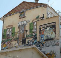Mur peint Margerin, à Angoulême.
