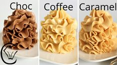 Chocolate, coffee and caramel Cream Cheese Buttercream Frosting, Coffee Buttercream, Cake Frosting Recipe, Cake Icing, Eat Cake, Icing Frosting, Chocolate Buttercream Recipe, Caramel Frosting, Honey Chocolate