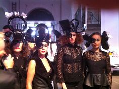 Styling for MoreTeaSir at Wella show in Cph.