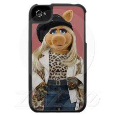 $39.95 Miss Piggy Case For The iPhone 4  #Disney #misspiggy #iphonecases http://www.zazzle.com/godsblossom