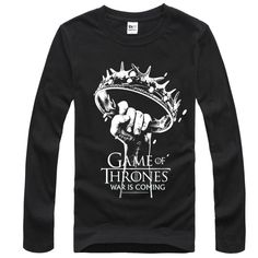 The Game of Thrones Crown of thorns Tshirts For Mens