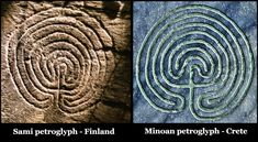 Russian archaeologists discover Sami Neolithic shrines that look like Bronze Age glyphs and North American sun wheels! | People of One Fire