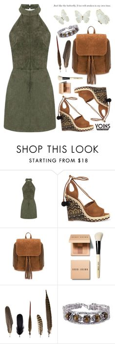"""""""Yoins 14"""" by amilla-top ❤ liked on Polyvore featuring Aquazzura, Bobbi Brown Cosmetics and Mineheart"""