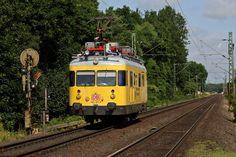 WMD/MBB Service Unit from DB 701 series at Kaarst in North Rhine-Westphalia, Germany Work Train, North Rhine Westphalia, Rail Car, Electric, Germany, The Unit, Europe, Deutsch