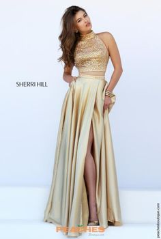 Two Piece A Line Sherri Hill Dress 11330