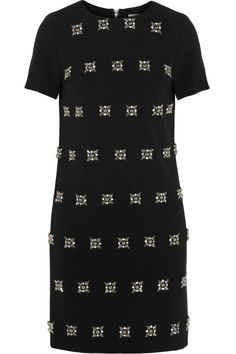 MICHAEL Michael Kors | Lux crystal-embellished jersey dress