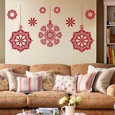 Joyeux Noël mur Stickers autocollant vinyle autocollant flocons pour pépinière chambre décoration chambre décoration Art peintures murales MN864 par CozyDecal sur Etsy https://www.etsy.com/fr/listing/255658246/joyeux-noel-mur-stickers-autocollant