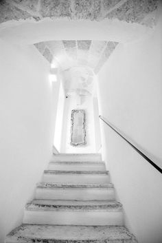 Giovì relais, Polignano a Mare, 2009 http://bit.ly/zkgReE #archilovers #architecture #stair