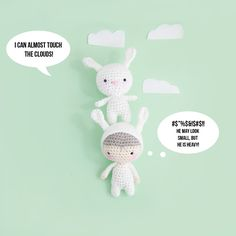 Crochet Bunny pattern by Ina Rho