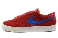 Nike Blazer Basse Homme Premium Vintage Daim Gym Rouge Royal http://www.shopnikeblazer.fr/nike-blazer/nike-blazer-cuir-homme/nike-blazer-basse-homme-premium-vintage-daim-gym-rouge-royal.html