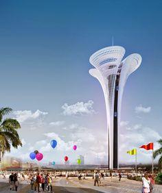 "Expo 2016 Antalya BLOG: ""Expo Tower""... will be the Symbol of Expo 2016 An..."