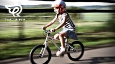 The lightest kids' bike available. A super lightweight children's bike with an aluminium frame. The bike only weighs Award-winning bike and the only kids' bike with a carbon belt drive. Little Kids Bike, Kids Helmets, Belt Drive, Little People, Cycling, Bicycle, Take That, Motorcycle, Petra
