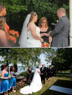 Debra Sisco is a marriage officiant who is available for performing same sex weddings. This female wedding officiant helps plan the entire ceremony taking into account the values that couples share. New York based wedding officiant: click for reviews and photos!
