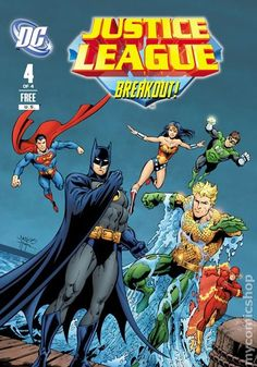 Justice League (2011) General Mills Presents 4