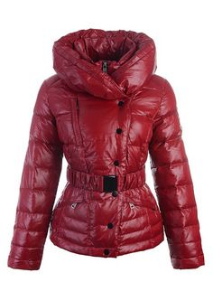Cheap Moncler Vest Woman - Collar Double Red   Moncler Women 2013   -Moncler  Jackets 4a837a0896a