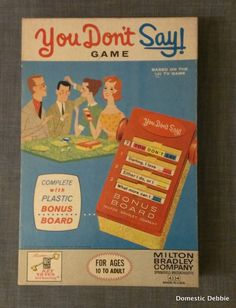 1960S Board Games | Add it to your favorites to revisit it later... IN SEARCH OF THIS VINTAGE GAME, BUT GARAGE SALES ARE HERE SO MaYbE I WILL FIND ONE, SMILES... YOU HAVE 1 YA MAY WANNA SALE FOR A GOOD PRICE? JUST LET ME KNOW PLEASE?