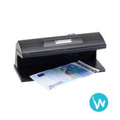 Fini les faux billets avec ce détecteur de faux billets pas cher Ratiotec Soldi 120. Il vérifie le billet avec sa lampe UV| Waapos, spécialiste de la monétique