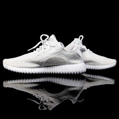 Happy birthday, Kanye West. For a detailed look at the white #YeezyBoost 350, hit the link in our bio. #instafollow #sneakerhead #sneakermates