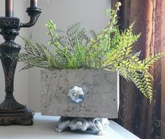 Shabby Romantic Distressed Upcycled by TheUglyDuckling1962 on Etsy, $32.00