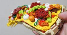 Des classiques food tout en LEGO