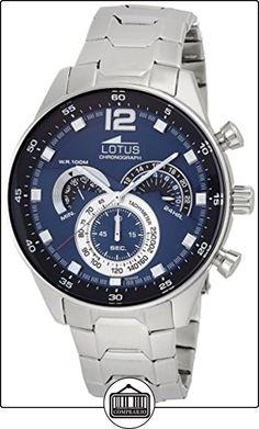 Lotus Chrono Sport 10120/2 Cronógrafo para hombres muy deportivo de  ✿ Relojes para hombre - (Gama media/alta) ✿