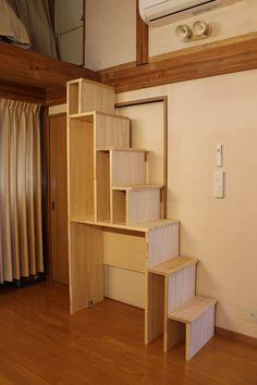 ■DIYで箱階段をつくる Vol.8   重量木骨の家