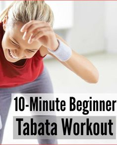 Try this Tabata workout for beginners to achieve your fitness goals.