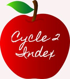 Cycle 2 Index- My master list of all things Classical Conversations, Cycle 2!