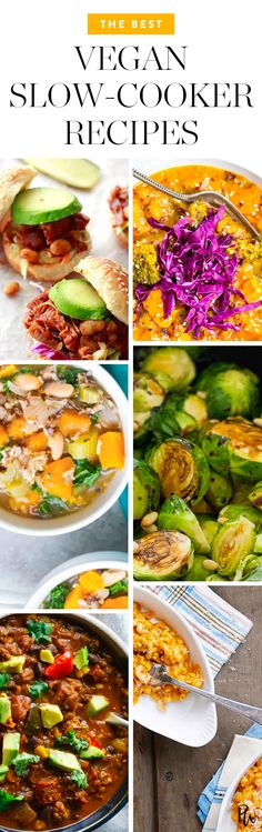 The 30 Best Vegan Slow-Cooker Recipes #purewow #food #recipe #easy #cooking #vegan #slow cooker