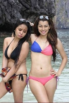 Two Filipina Girls and Some Bikini Fun
