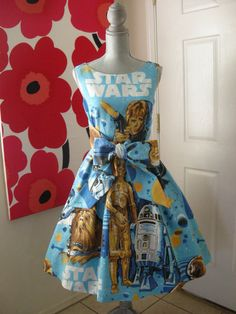 Star Wars party Dress by AkabiSelectboutique on Etsy