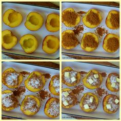Stuffed Summer Peaches - will be so good with sweet peaches from Jaemores!