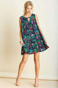 Umgee USA > Sleeveless Dress > #D5112 − LAShowroom.com